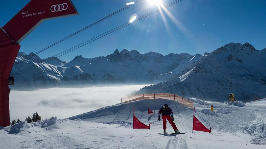 Fellhorn skigebiet