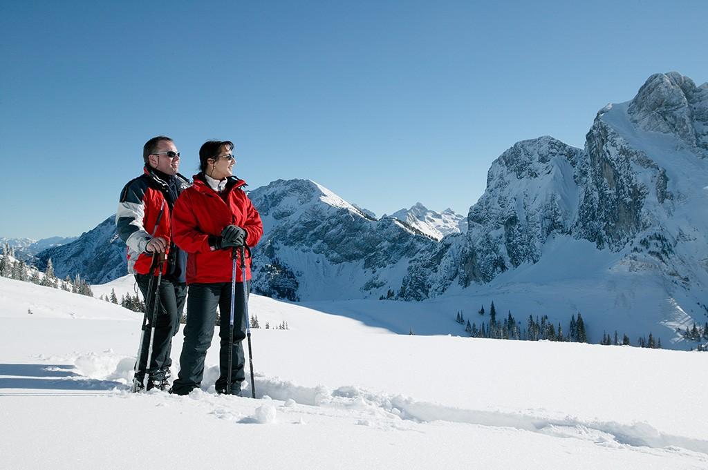 Winterwandern im Allgäu Pfronten